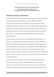 Petra Rostock - European Consortium for Political Research