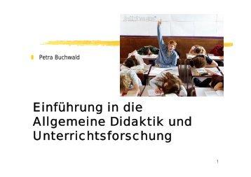 Lehr- und Führungsstile - Dr. Petra Buchwald
