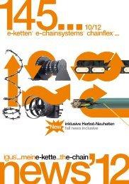 e-ketten e-chainsystems chainflex ... ...meine-kette...the-chain ... - Igus