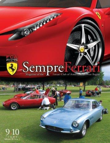 Sempre Jan Feb 05a.qxd   Ferrari Club Of America   Southwest .