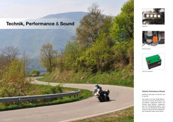 Technik, Performance & Sound - Wunderlich