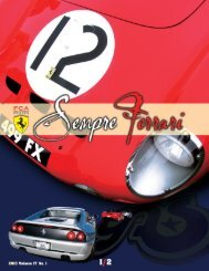Volume 17 Issue 1 - January/February 2010 - Ferrari Club of ...