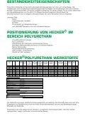 HECKER POLYURETHAN- ERZEUGNISSE - ADR - Seite 5