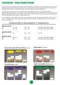 POLYURETHAN- ERZEUGNISSE - Hecker Werke GmbH + Co. KG - Seite 4