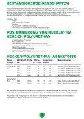 POLYURETHAN- ERZEUGNISSE - Hecker Werke GmbH + Co. KG - Seite 5