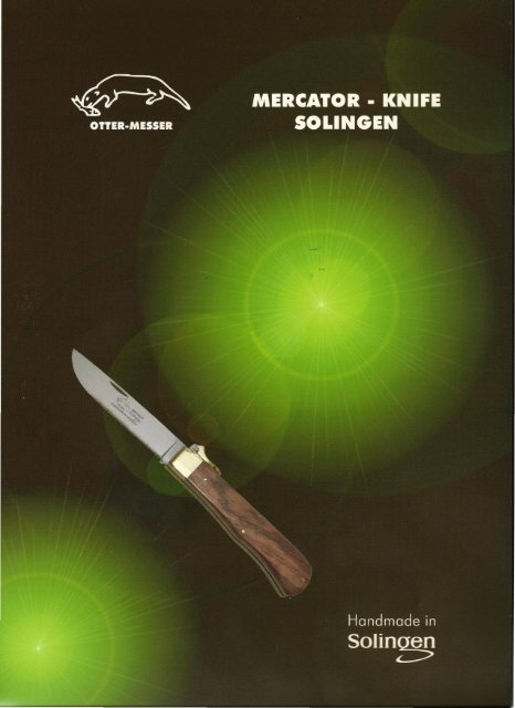 2009 OTTER-Messer & Mercator - knife * Rainer Morsbach