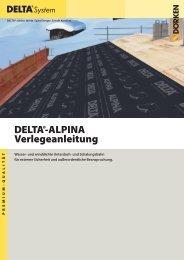 Detaillierte Verlegeanleitung - Ewald Dörken AG