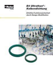 E4 Ultrathan®- Kolbendichtung Prädifa - Parker Hannifin Corporation