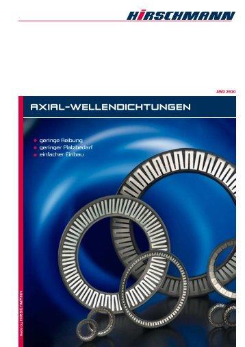 AXIAL-WELLENDICHTUNGEN - Hirschmann GmbH
