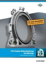 Montage von PTFE-Radial-Wellendichtringen - Schmettau & Fuchs