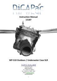 Instruction Manual 15187 WP-S10 Outdoor ... - Studioexpress