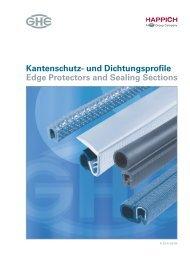 Kantenschutz- und Dichtungsprofile Edge ... - Technomag AG