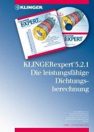 KLINGERexpert 5.2.1 Die leistungsfähige Dichtungs- berechnung