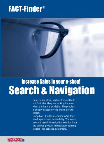 Search & Navigation - FACT-Finder