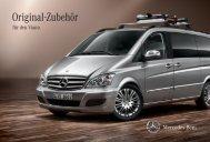 Original-Zubehör für den Viano. - Mercedes-Benz Accessories GmbH