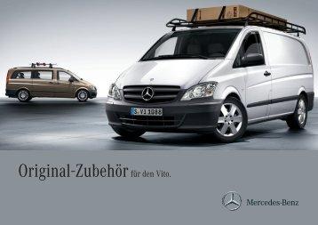Original-Zubehör für den Vito. - Mercedes-Benz Accessories GmbH
