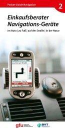 Einkaufsberater Navigations-Geräte - bei der Gesellschaft für ...
