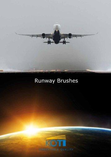 Runway brushes - Kobra
