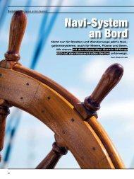 Navigation › Navi-System An Bord - Dietrich Hub