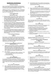 Polizeiverordnung vom 25. Oktober 2006 - Stadt Münsingen