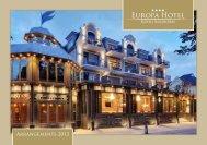 Arrangements 2013 - Europa Hotel Kühlungsborn