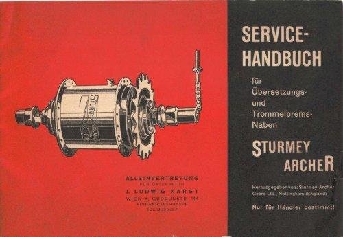 SERVIBE HANDBUCH - Sturmey-Archer Heritage