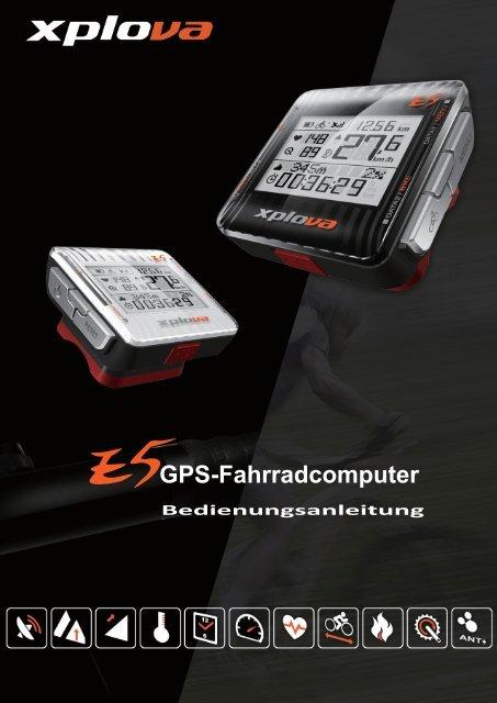 GPS-Fahrradcomputer - Xplova