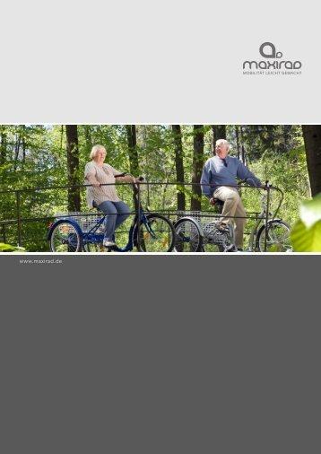 können Sie unseren Katalog herunterladen - Maxirad