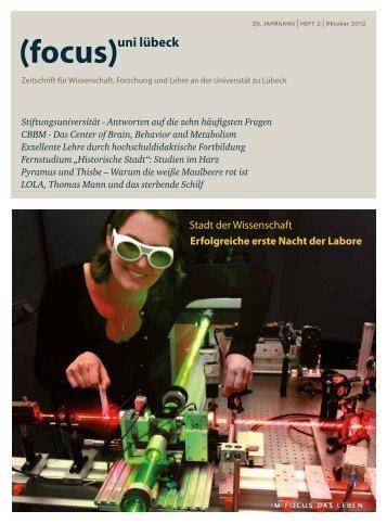 (focus)uni lübeck - Universität zu Lübeck