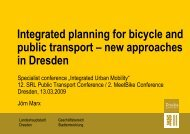 Integrated planning for bicycle and public transport - SRL