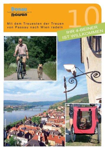 mit dem Hund - Donau Touristik