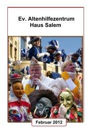 Haus Salem - Evangelische Altenhilfe Gesundbrunnen