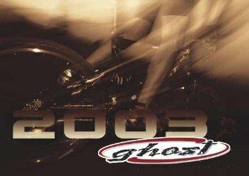 Katalog 2003 - Ghost Bikes