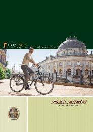 Raleigh Katalog 2012 - Fahrrad Rentsch