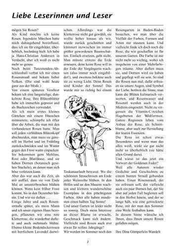 Liebe Leserinnen und Leser - Autorenkreis Federfüchse