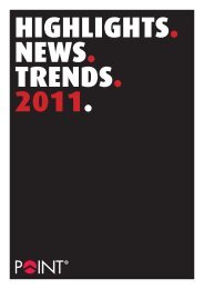 highlights. news. trends. 2011. - Point