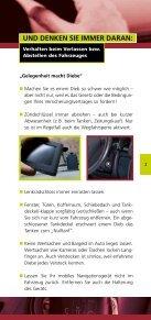 Bremsen Sie Diebe rechtzeitig aus! - Polizeiliche Kriminalprävention ... - Seite 3