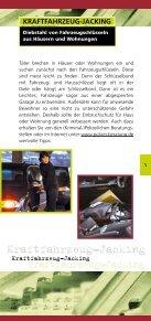 Bremsen Sie Diebe rechtzeitig aus! - Polizeiliche Kriminalprävention ... - Seite 5