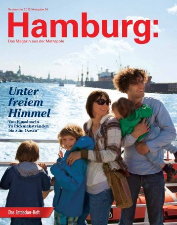 Unter freiem Himmel - Hamburg Marketing GmbH