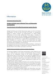 Schlussbericht Fahrrad Essen 2011 Hersteller und Händler zeigten ...