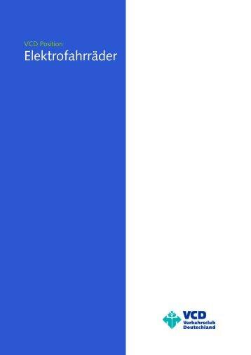 Elektrofahrräder - VCD