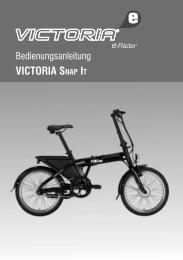 Inhaltsübersicht Montageanleitung - Victoria e-Rad