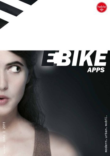 E-BIKE-APPS: Hebie-Produkte für E-Bikes