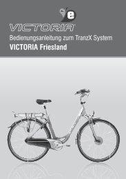 Bedienungsanleitung Friesland.indd - Victoria e-Rad