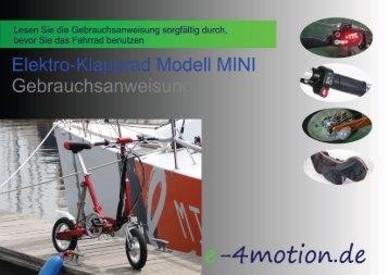 Fortsetzung - E-4Motion
