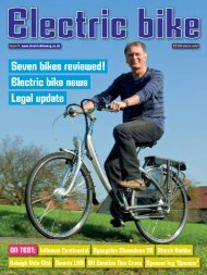 Issue Four - Early 2012 - Electric Bike Magazine