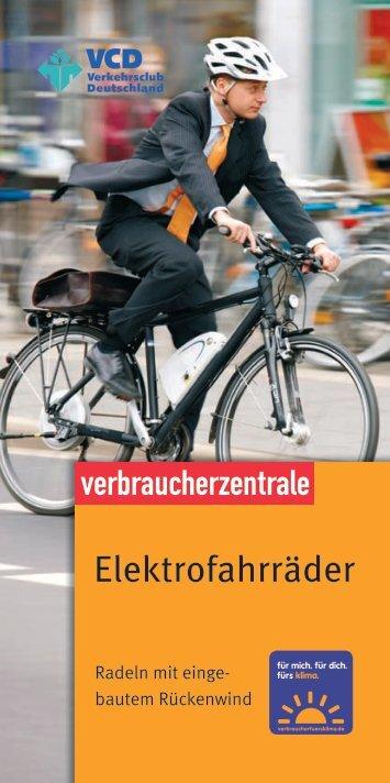 Elektrofahrräder - verbraucherfuersklima.de