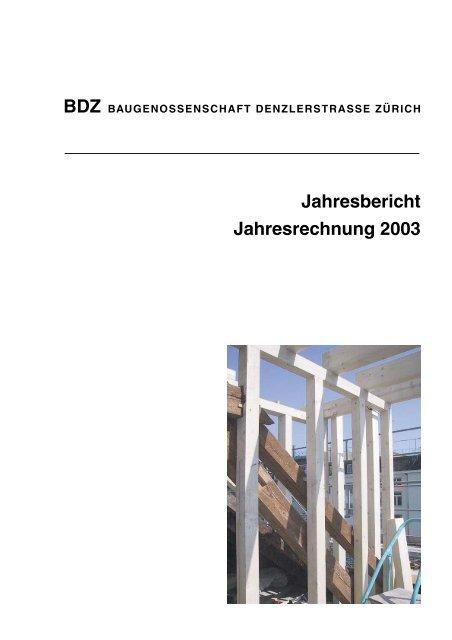11 Bilanz per 31. Dezember 2003 - BDZ