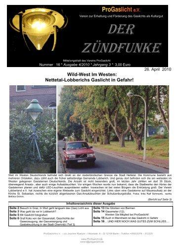 Wild-West Im Westen: Nettetal-Lobberichs Gaslicht in ... - ProGaslicht
