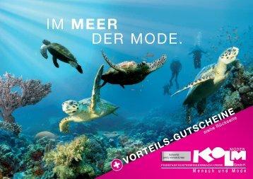 + VORTEILS-GUTSCHEINE - Kolm Moden